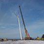Wind Turbine and Cranes